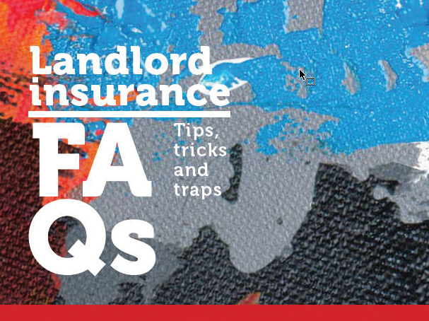 Landlord insurance FAQs booklet